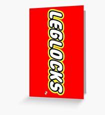 Leglocks BJJ Greeting Card
