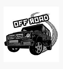 Off road Photographic Print