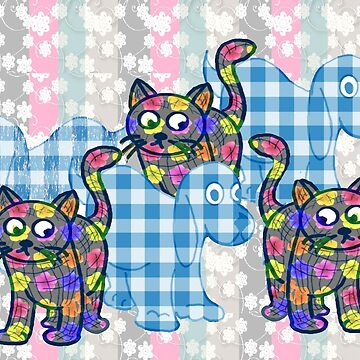 The Gingham Dog and The Calico Cat by IowaArtist