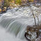 Raging Upper Cataract Falls by Kenneth Keifer