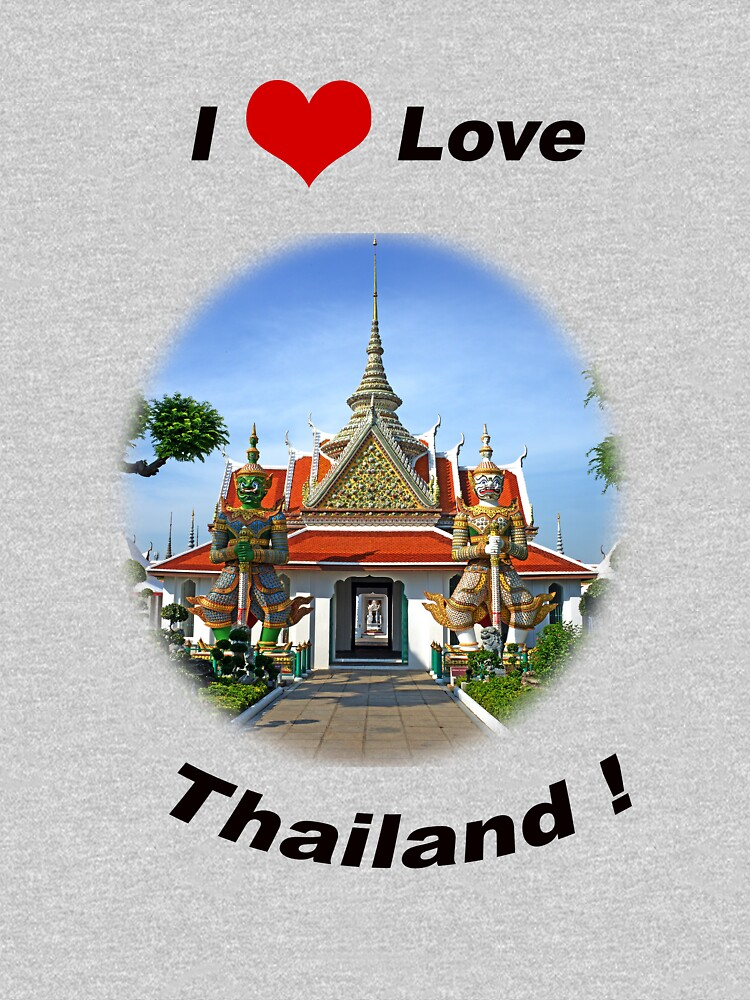 I Love Thailand! by BWBConcepts