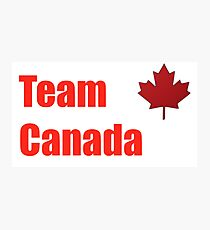 Go Canada! Photographic Print