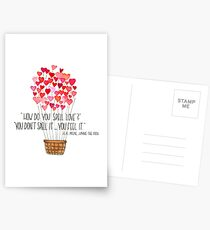 Love - Winnie the Pooh Postcards