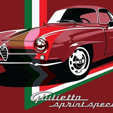 Alfa Romeo Giulietta Sprint Speciale by fmd159