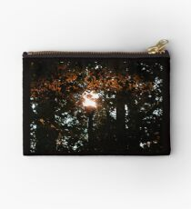 Finding the Street Lamp Among the Leaves Studio Pouch