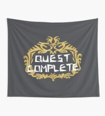 Monster Hunter World - Quest Complete Wall Tapestry