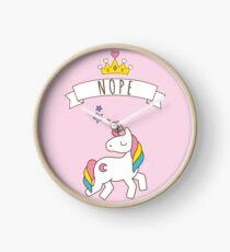 Reloj Nope Unicornio