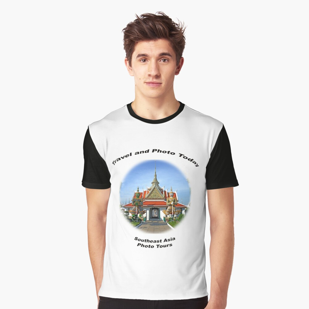 Travel & Photo Today - Southeast Asia Photo Tours Graphic T-Shirt Front