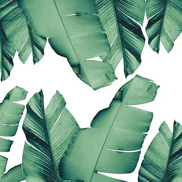 Banana Leaves Tropical Vibes #4 #foliage #decor #art by anitabellajantz