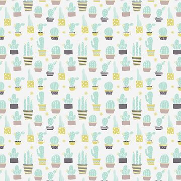 Cute Cactus Pattern by heartlocked