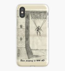 First base jumping (1616 AD) iPhone Case