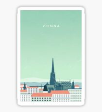 Wien Sticker