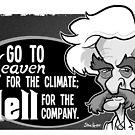 Twain Heaven and Hell by binarygod