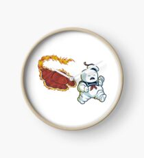 RUN MARSHMALLOW MAN - 0292 Clock