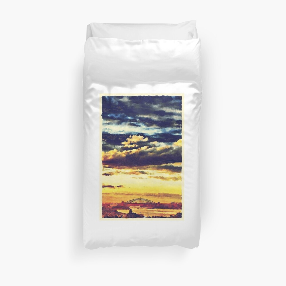 Mostly Autumn Duvet Cover