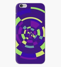 Abstract Geometric Tunnel Circle Colorful Thing iPhone Case
