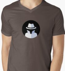 The Spy Brief Logo Men's V-Neck T-Shirt
