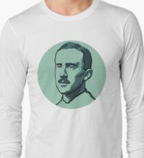 Tolkien II - teal/blue Long Sleeve T-Shirt