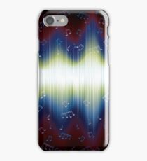Abstract Music iPhone Case/Skin