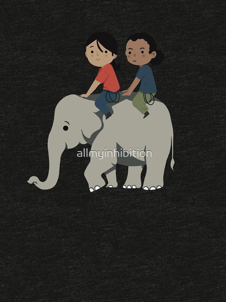 Chloe & Nadine - Elephant by allmyinhibition