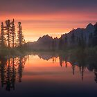 Evening on the lake. by Eugenstellar
