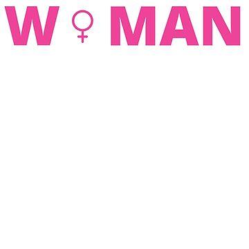 Feminist T-shirts  Strong Woman Symbol Shirt by tuffkitty