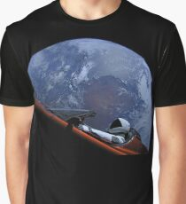 Spacex Starman In Orbit Graphic T-Shirt