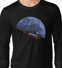 Camiseta de manga larga Spacex Starman En Orbita