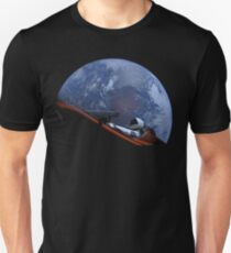 Spacex Starman In Orbit Unisex T-Shirt