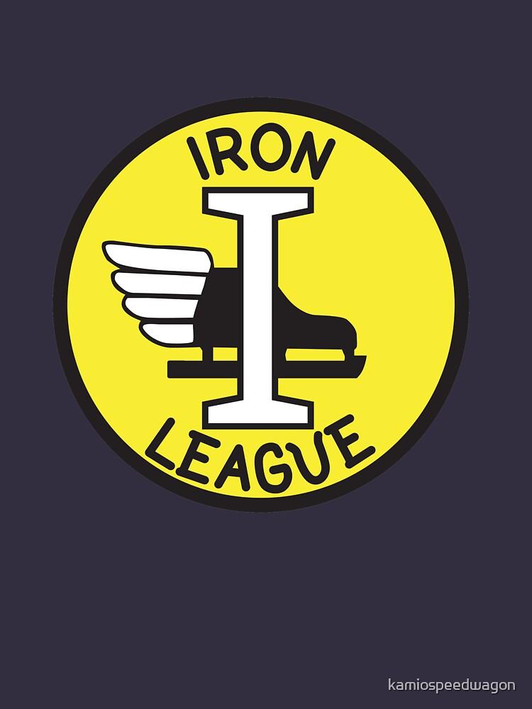 Iron League by kamiospeedwagon