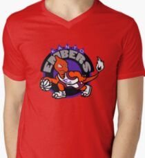 Kanto Embers Men's V-Neck T-Shirt