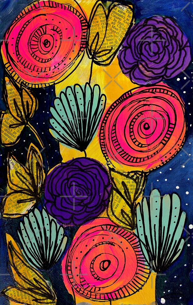 Floral Doodle by amorninggrouch