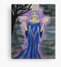 Triple Moon Goddess Canvas Print