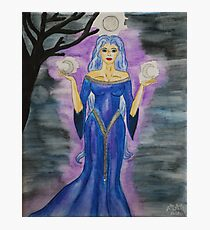 Triple Moon Goddess Photographic Print