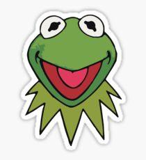 Kermit the Frog Cute Green Sticker