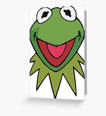 Kermit the Frog Cute Green Greeting Card