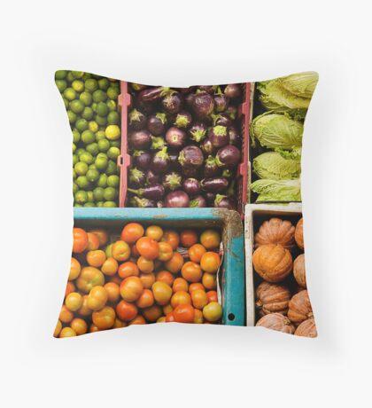 I Love Vege' Throw Pillow