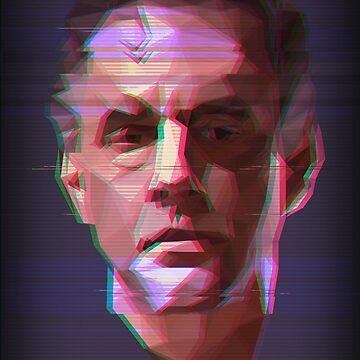 Dr. Jordan Peterson - Vaporwave by MichaelWalters