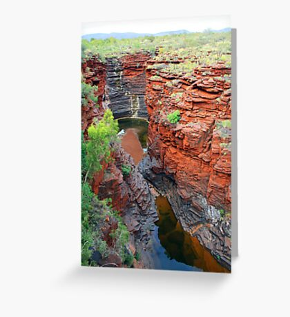 Joffre Gorge Greeting Card