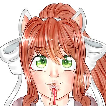 Monika cat by pommelstudios