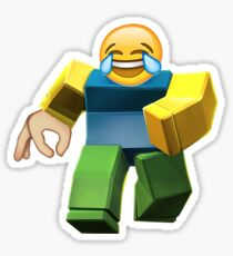 Roblox - With a hand and emoji Sticker