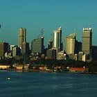 Sydney Skyline by Tony Waite
