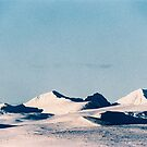 Majestic Snow-Covered Peaks of Rondane National Park (Norway) Shot on Film by visualspectrum