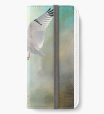Duelling White Ibises iPhone Wallet/Case/Skin