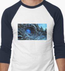 Viserion's Blue Eye Men's Baseball ¾ T-Shirt