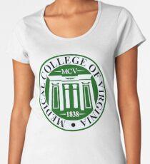 Schullogo Premium Rundhals-Shirt