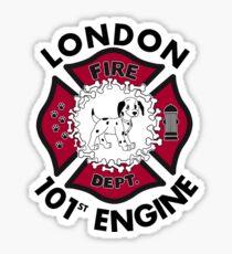 101st engine Sticker