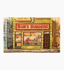 Bob's Burgers Storefront Photographic Print