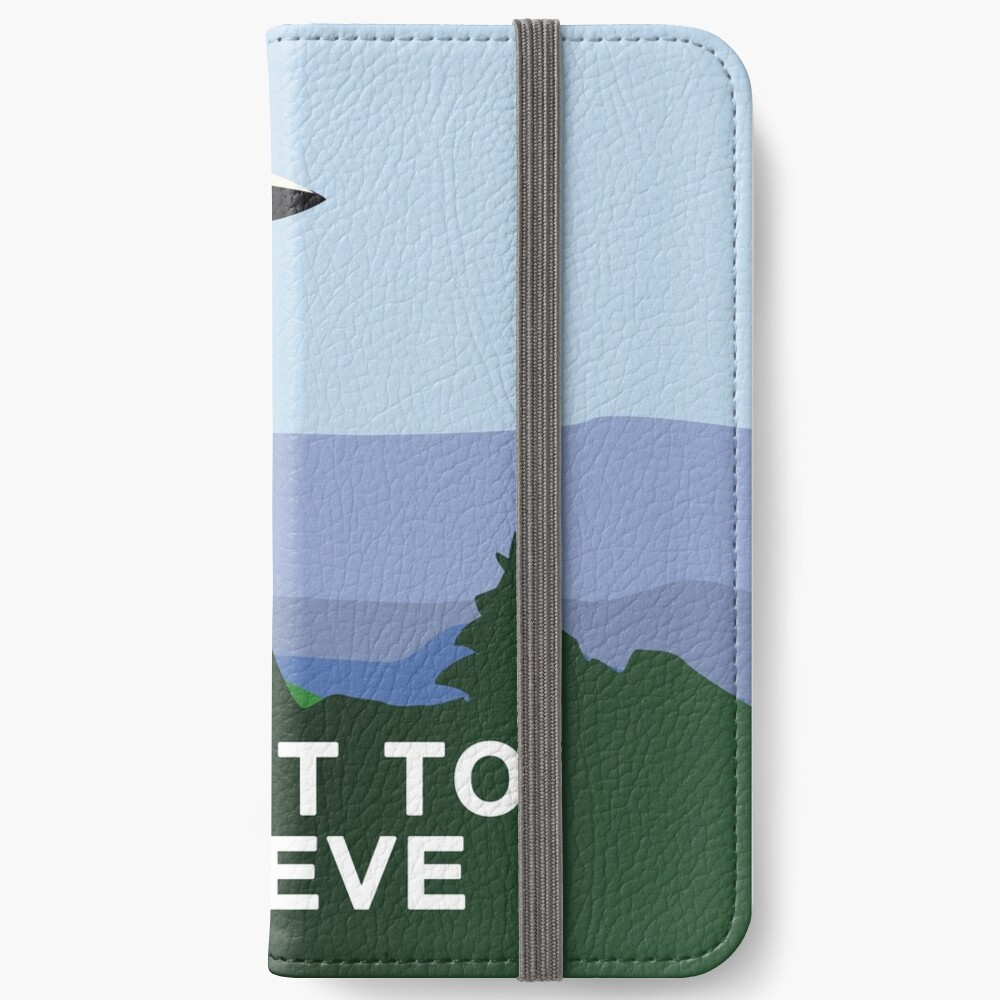 Quiero creer Fundas tarjetero para iPhone