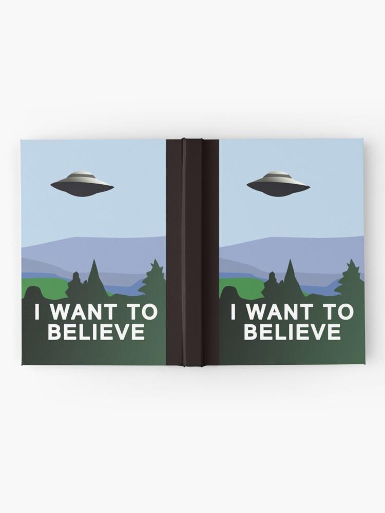 Vista alternativa de Cuaderno de tapa dura Quiero creer